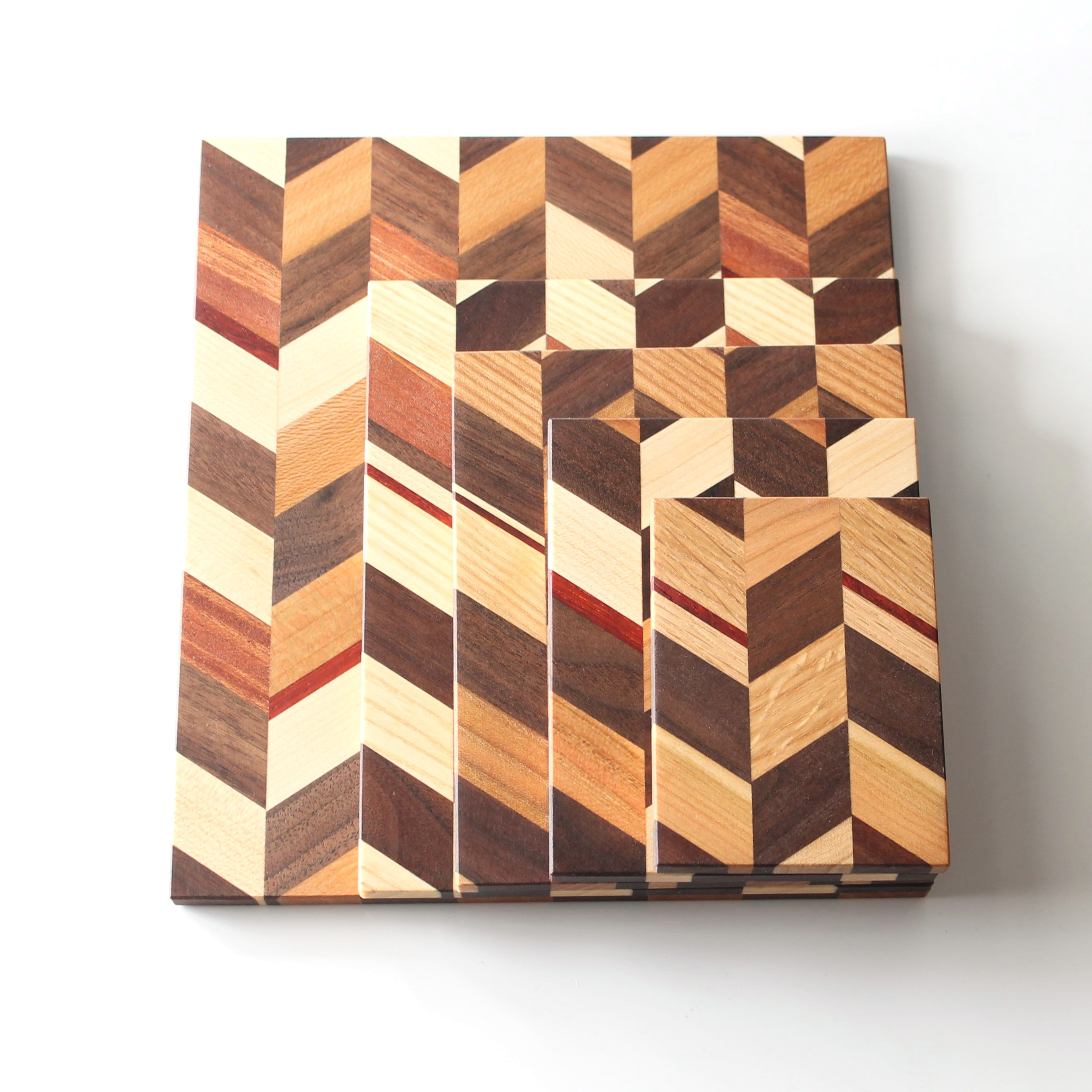 Well-liked Checkered Trivets | JK Creative Wood UF78